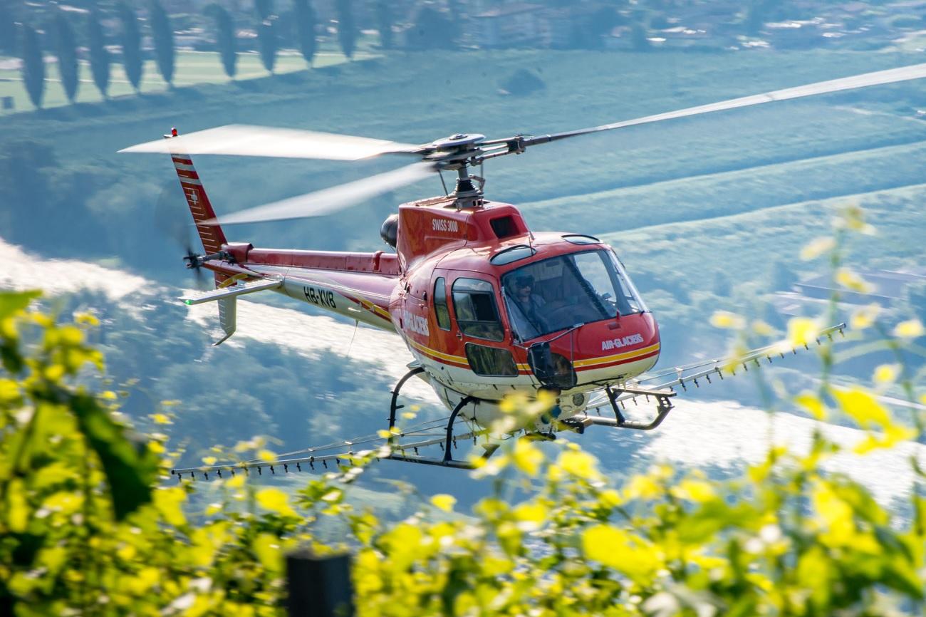 Traitement par hélicoptère: les réponses à vos interrogations